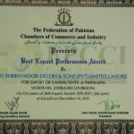 Best Export Performance 2011-2012